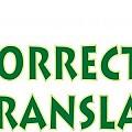 Logo CORRECT TRANSLATION SRL