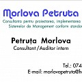 Logo MORLOVA PETRUTA PFA