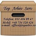 Logo TOP ARHIV SERV SRL