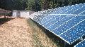 Parc fotovoltaic cu panori fixe sau trackere cu evacuare put