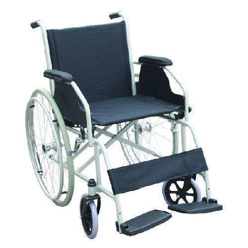 Scaun cu rotile ( fotoliu rulant) din otel