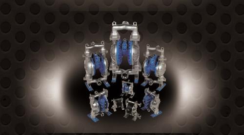 Pompe pneumatice cu membrane
