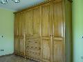 dulap dormitoare lemn masiv rasinos