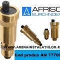 Aerisitor automat Afriso cu ventil de izolare inclus de 1 2
