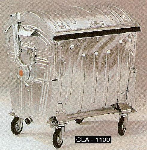 Container zincat la cald