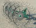 Grebla cu patru rotoare pentru fan  - Grebla
