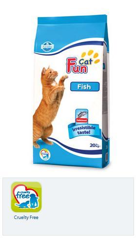 Mancare uscata pentru pisicute Fun Cat