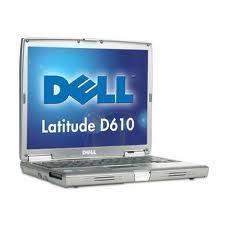 Laptop Dell Latitude D610 Pentium M 1.86 Ghz, 1 Gb Ram, 60 H