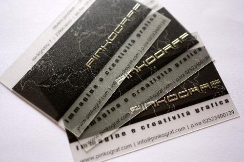 Carti de vizita transparente - laminate