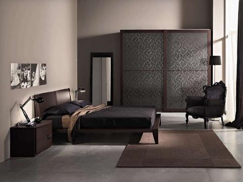 mobila dormitor modern italian de lux decor