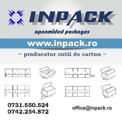 Cutii carton glisante