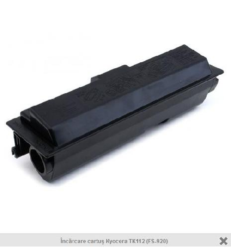 Incarcare cartus laser Kyocera TK112(FS-920)