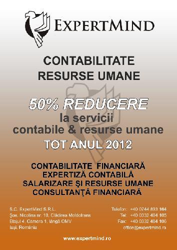 Contabilitate si consultanta financiara Iasi  0746080215 - 5