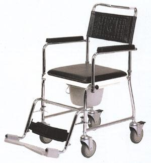 FOTOLIU RULANT DE TOALETA HCDA scaun cu rotile cu vas WC car