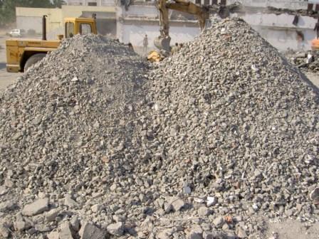 concasare  material demolari