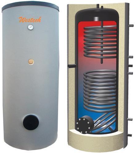 Boiler Solar bivalent de 200 litri