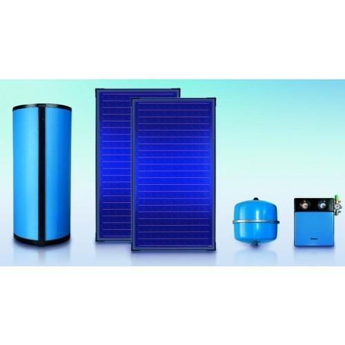Pachet 2 panouri solare plane Buderus Logasol SKS 4.0, boile