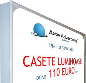 Caseta Luminoasa - 110 euro mp