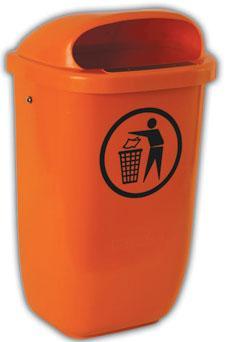 Cosuri de gunoi stradale polietilena