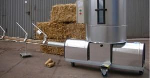 Presa brichetare biomasa