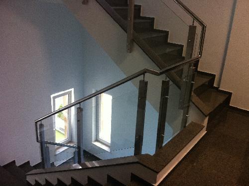imagini balustrade inox