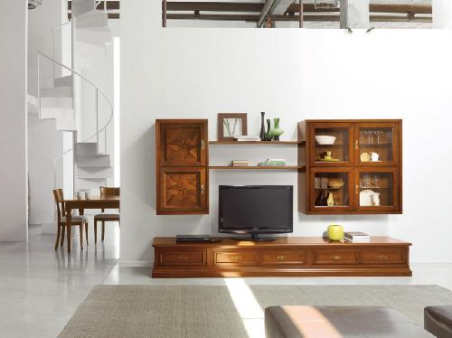 mobila living lemn masiv