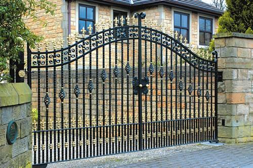 Garduri fier forjat si porti fier forjat
