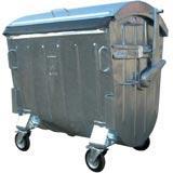 Container  metalic zincat la cald 1100 L
