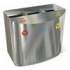 Baterie din inox pentru reciclare deseuri