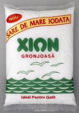 Sare grunjoasa  Xion 1 kg