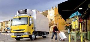 Camioane distributie
