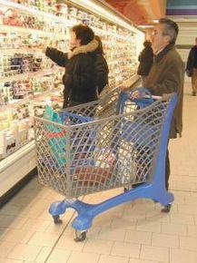 Carucioare pentru cumparaturi