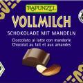 Ciocolata bio din lapte integral cu migdale