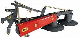 Cositoare  cu tambur 185-Cositoare rotativa