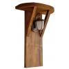 Lampa din lemn pentru gradina