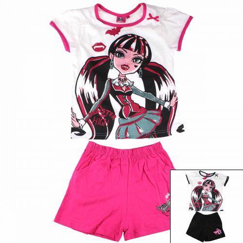Set tricou si pantaloni scurti Monster High