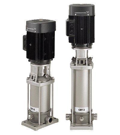 CRT pompe verticale multi-etajate pentru apa sarata