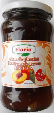Gem de piersici extra Florin 314g