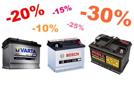 Oferte speciala baterii auto si acumulatori