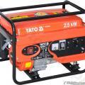 GENERATOR BENZINA15L 230V 10 9A 2 5KW - YATO