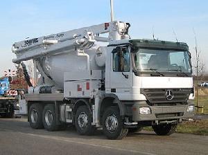 Pompe beton Mercedes Benz