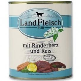 Hrana umeda Land Fleisch pentru caini