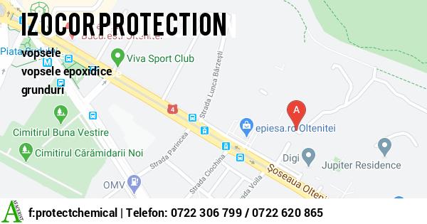 Harta SC PROTECT CHEMICAL SRL - vopsele, grunduri