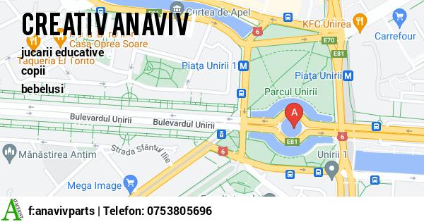 Harta ANAVIV PARTS SRL - stivuitoare, transpaleti