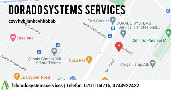Harta SC DORADO SYSTEMS SERVICES SRL - servicii it, externalizare it