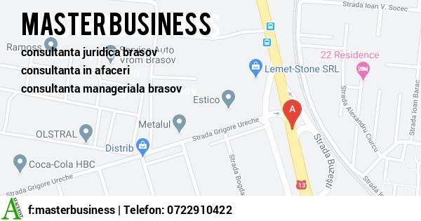 Harta S.C. MASTER BUSINESS S.R.L. - consultanta juridica brasov, consultanta in afaceri