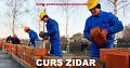 Curs Zidar, Pietrar, Tencuitor