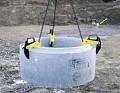 Dispozitiv de ridicare pentru inele de beton