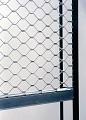 Grilaj metalic de protectie cu tuburi ondulate sau drepte