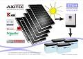 Kit instalatie 6 panouri fotovoltaice putere 1.59 KW